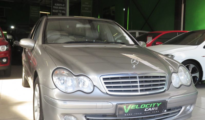 2005 MERCEDES-BENZ C200 KOMPPRESSOR full