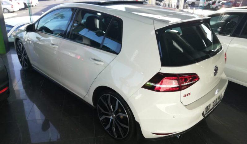 2016 Volkswagen GTI Performance pack full