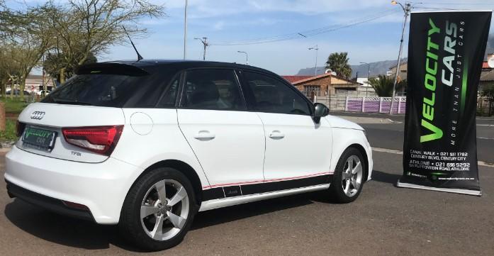 2018 Audi A1 White 1.0 TFSI S full