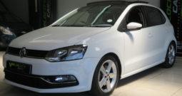 2017 VW Polo6 1.2TSi DSG with Pan roof